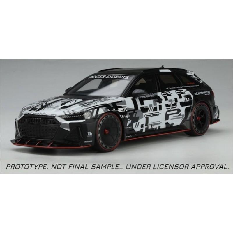 Precomanda : Macheta auto Audi RS6 Avant Quattro Roger Dubuis Body Kit Camo 2020, LE 999 pcs, 1:18 GT Spirit