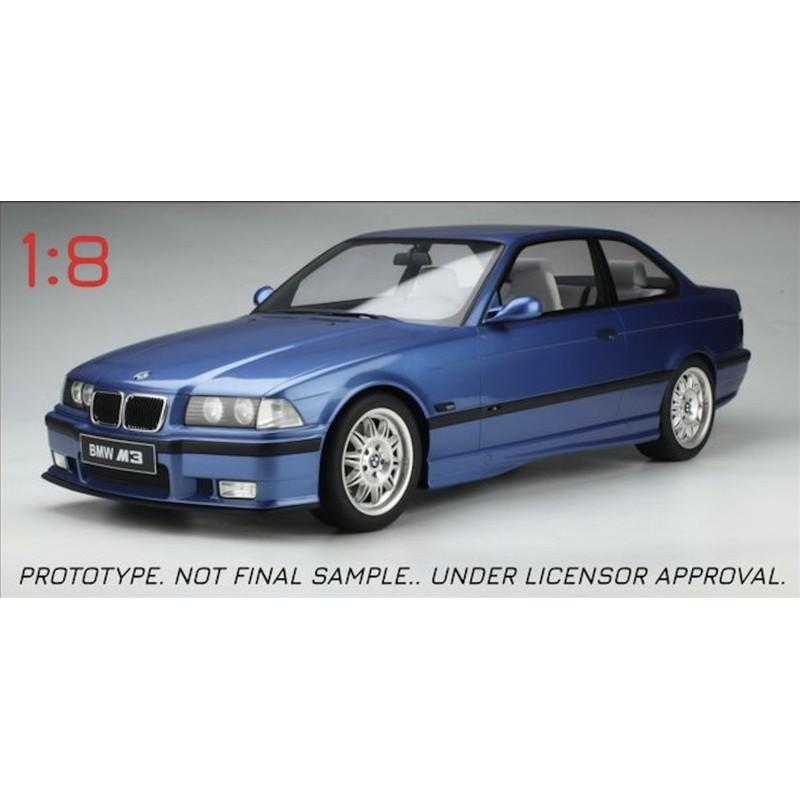 Precomanda : Macheta auto BMW Seria 3 (E36) M3 3.2 Coupe albastru 1994, 1:8 GT Spirit