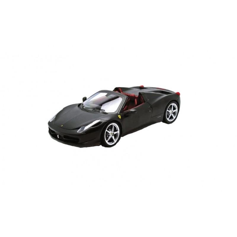 Macheta auto Ferrari 458 Italia Spider black 2011, 1:18 Hotwheels