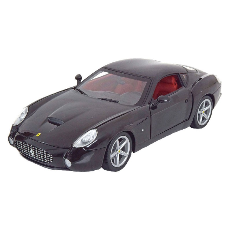 Macheta auto Ferrari 575 GTZ by Zagato black 2006, 1:18 Hotwheels