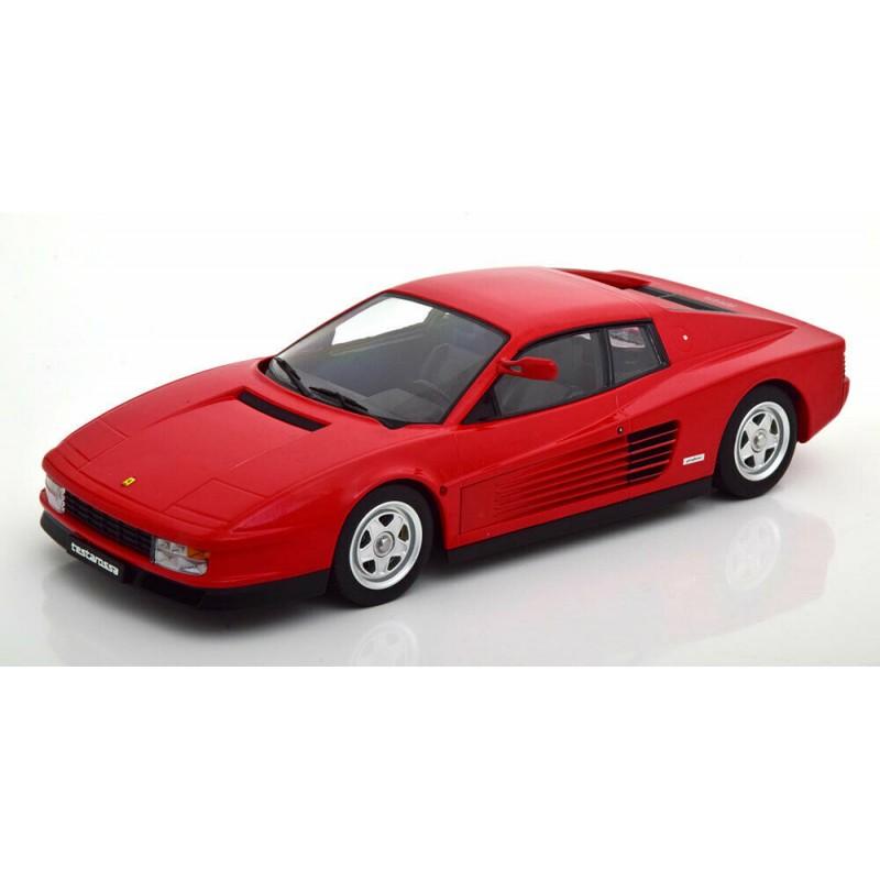 Macheta auto Ferrari Testarossa 1984 rosu, 1:18 KK Scale