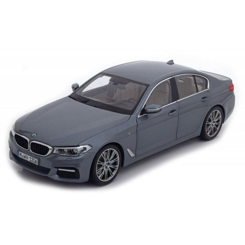 Macheta auto BMW Seria 5 G30 2016 gri, 1:18 Kyosho Dealer Edition