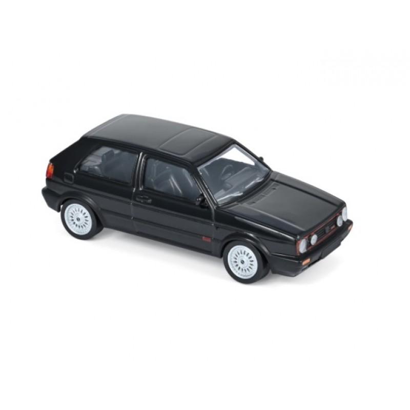 Macheta auto Volkswagen Golf 2 GTi negru G60 1990 - JET CAR, 1:43 Norev