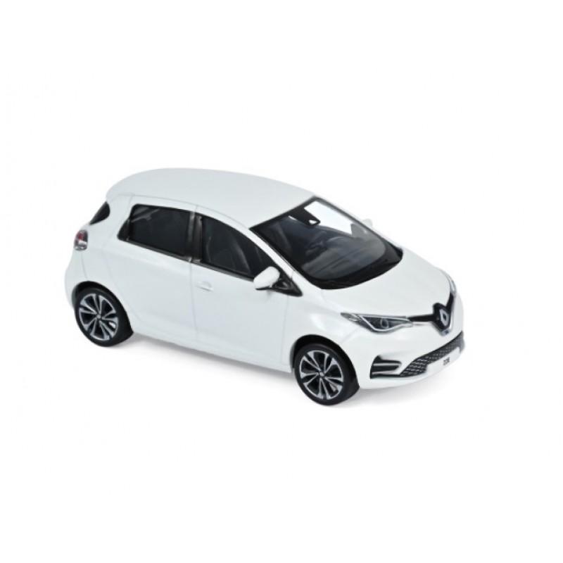 Macheta auto Renault ZOE ZE50 alb 2020, 1:43 Norev