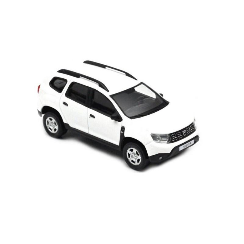 Macheta auto Dacia Duster 2018 alb, 1:43 Norev