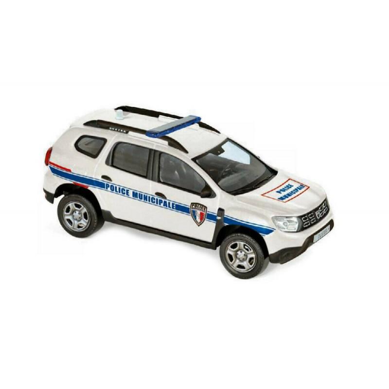 """Macheta auto Dacia Duster 2018 """"Police Municipale"""", 1:43 Norev"""