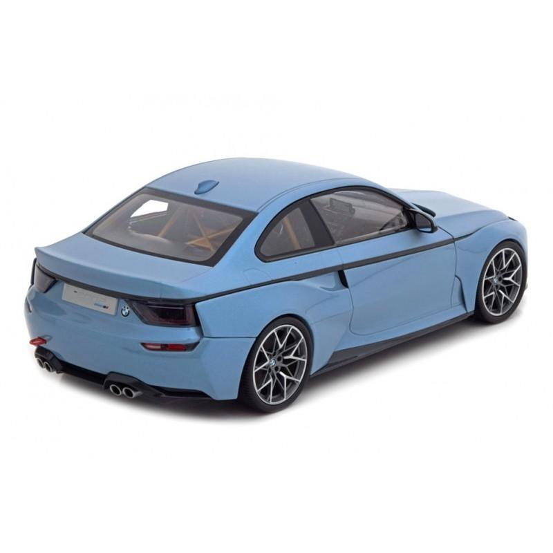 Macheta auto BMW 2002 Concept Coupe 2018 albastru, 1:18 Norev Dealer Edition