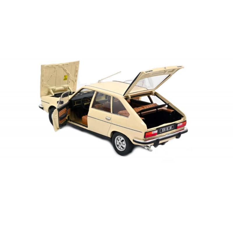 Macheta auto Renault 20 TS crem 1978, 1:18 Norev