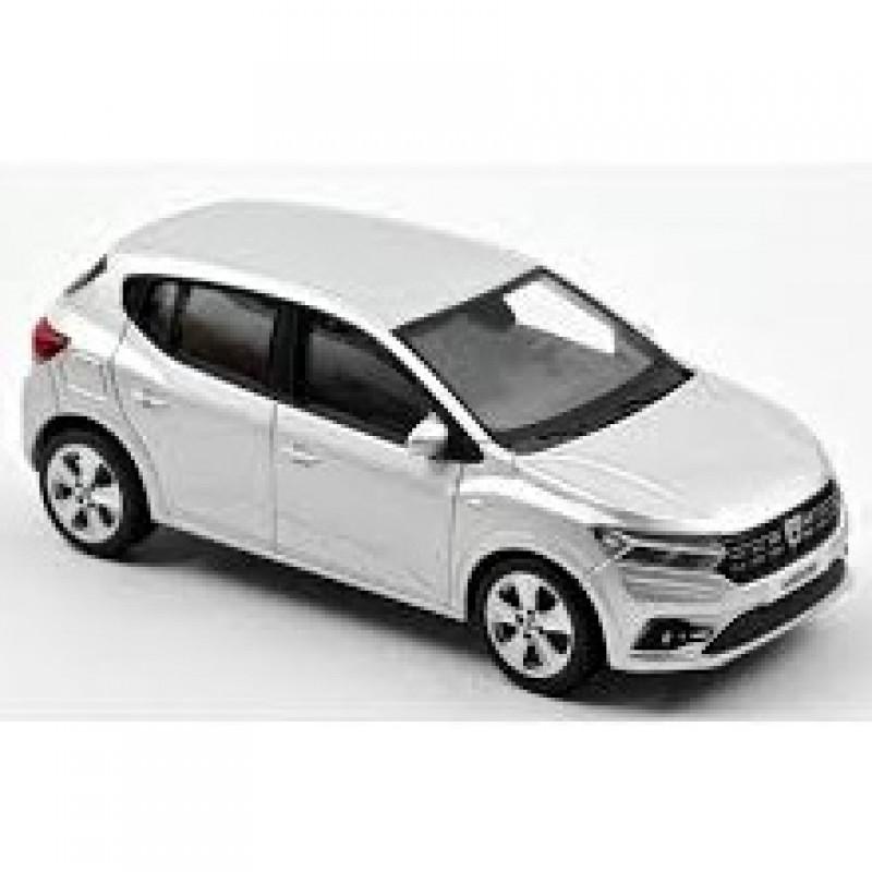 PRECOMANDA: Macheta auto Dacia Sandero gri 2021, 1:43 Norev