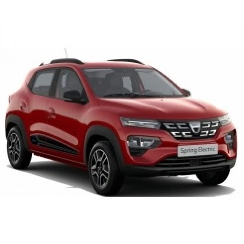 PRECOMANDA: Macheta auto Dacia Spring Comfort rosu 2022, 1:43 Norev