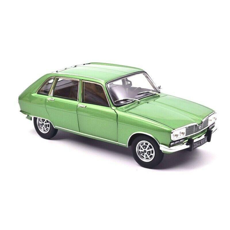 Macheta auto Renault 16 TX verde 1974, 1:18 Norev