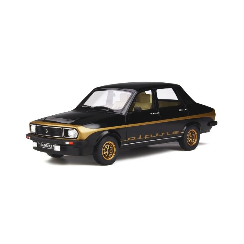 DEFECTA: Macheta auto Renault 12 Alpine 1978, 1:18 Otto Models