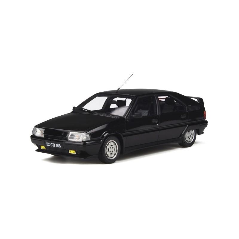 Macheta auto Citroen BX 16V GTi negru 1987, 1:18 Otto Models