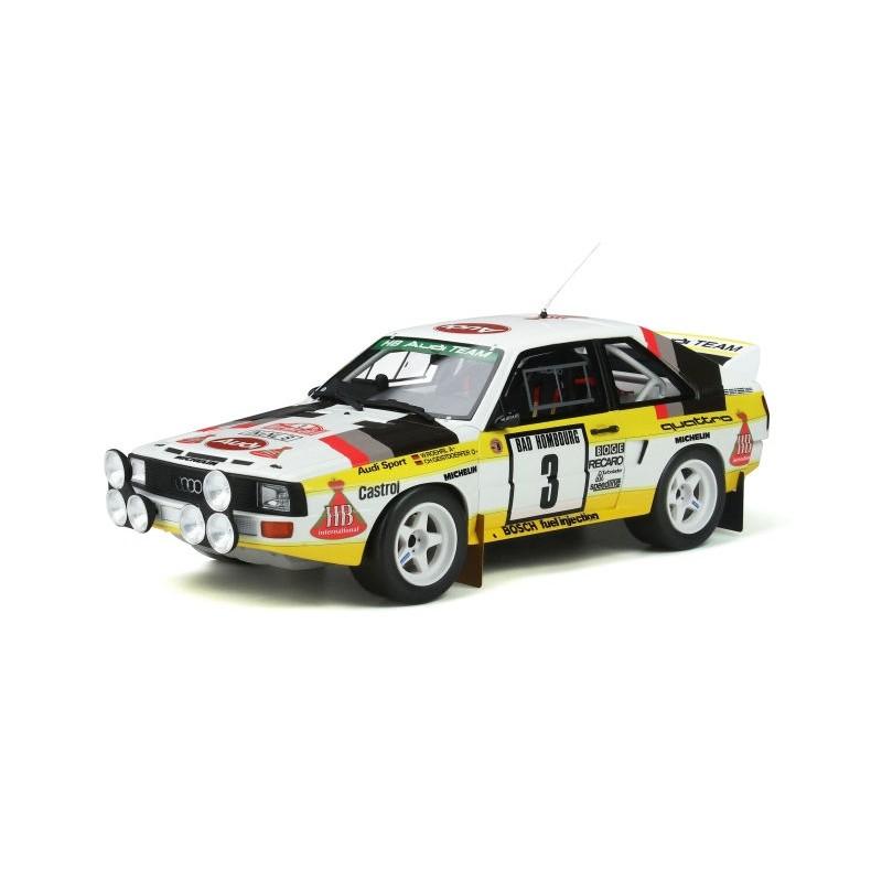 Macheta auto Audi quattro Sport Gr.B 1985, 1:18 Otto Models