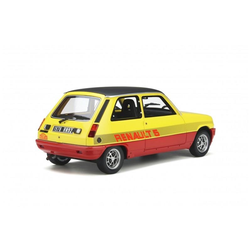 Macheta auto Renault 5 TS Monte Carlo 1978, LE 2000 pcs, 1:18 Otto Models