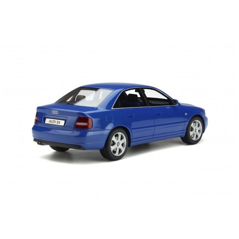 PRECOMANDA : Macheta auto Audi S4 (B5) 2.7L BiTurbo albastru 1998, LE 3000 pcs, 1:18 Otto