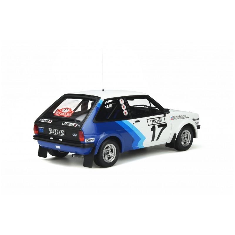 PRECOMANDA : Macheta auto Ford Fiesta Mk.1 1600 GR.2 1979, LE 2500 pcs, 1:18 Otto