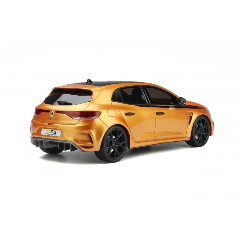 Precomanda : Macheta auto Renault Megane 4 RS performance Kit 2020 portocaliu, LE 3000 pcs, 1:18 Otto