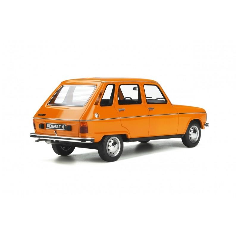 Precomanda : Macheta auto Renault 6 TL 1976 portocaliu, LE 2000 pcs, 1:18 Otto