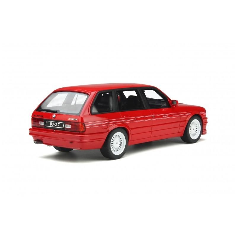 Precomanda : Macheta auto Alpina B3 (E30) Touring 2.7 1990 rosu, LE 4000 pcs, 1:18 Otto