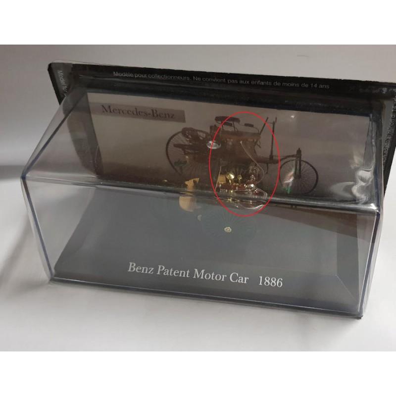 DEFECTA: Macheta auto Mercedes-Benz Patent Motorwagen 1886, 1:43 Ixo