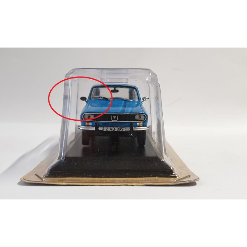 DEFECTA: Macheta auto Dacia 1300 Break - Masini de Legenda RO, 1:43 Deagostini
