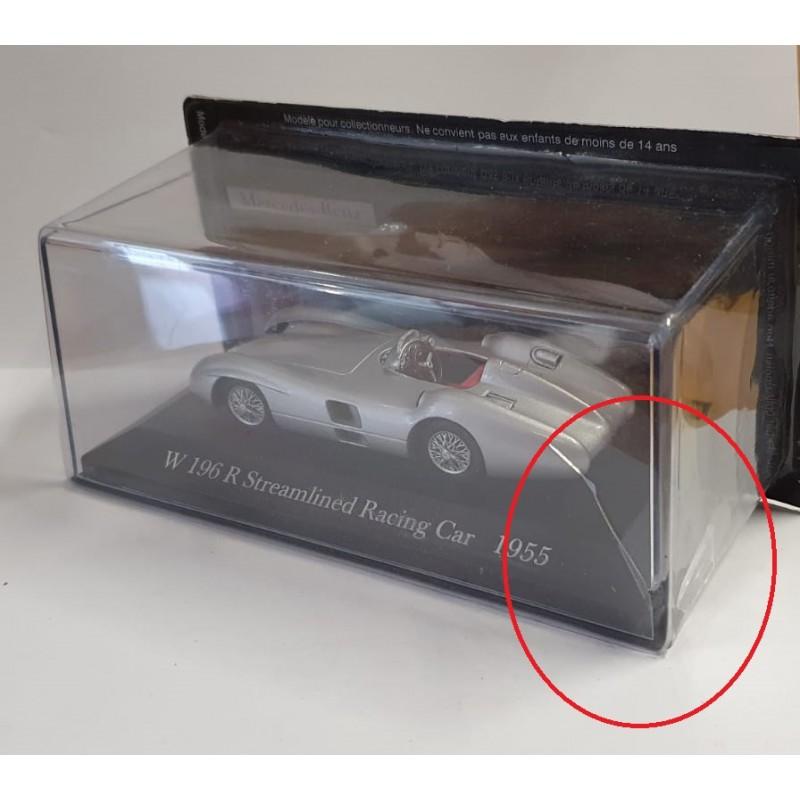 DEFECTA: Macheta auto Mercedes Benz W196R Streamlined racing Car 1955, 1:43 Altaya/Ixo