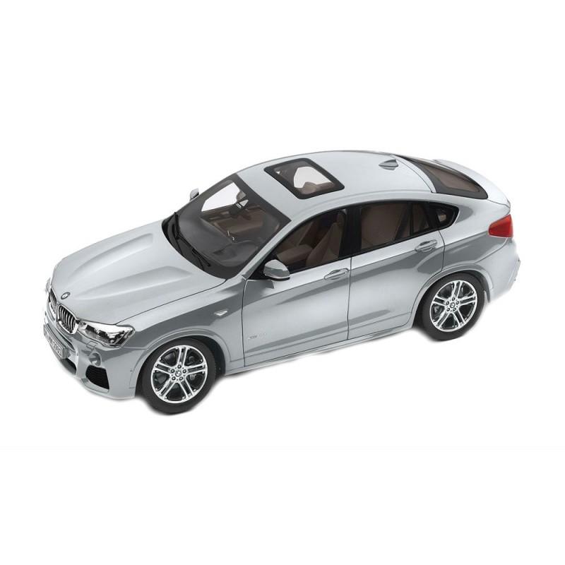 Macheta auto BMW X4 XDRIVE (F26) 2014 gri deschis, 1:18 Paragon