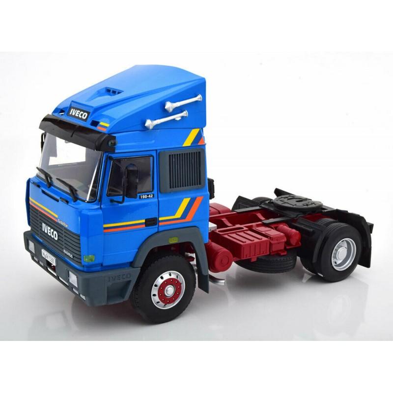 Macheta camion Iveco Turbo Star 1988 albastru LE400 pcs, 1:18 Road Kings