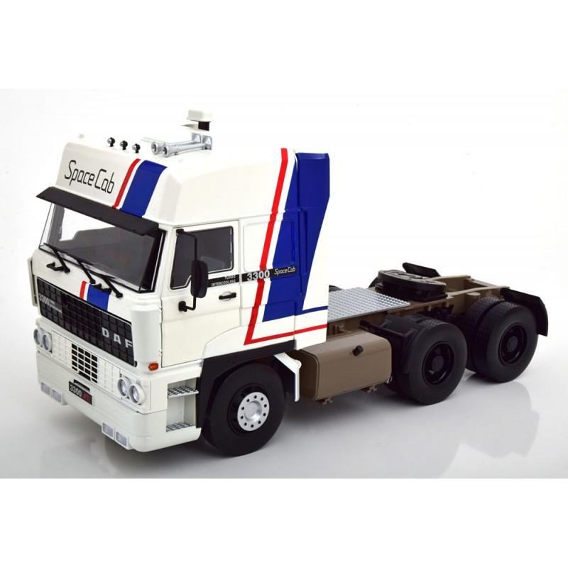 PRECOMANDA: Macheta camion DAF 3300 Space Cab 1982, alb LE 700 pcs, 1:18 Road Kings