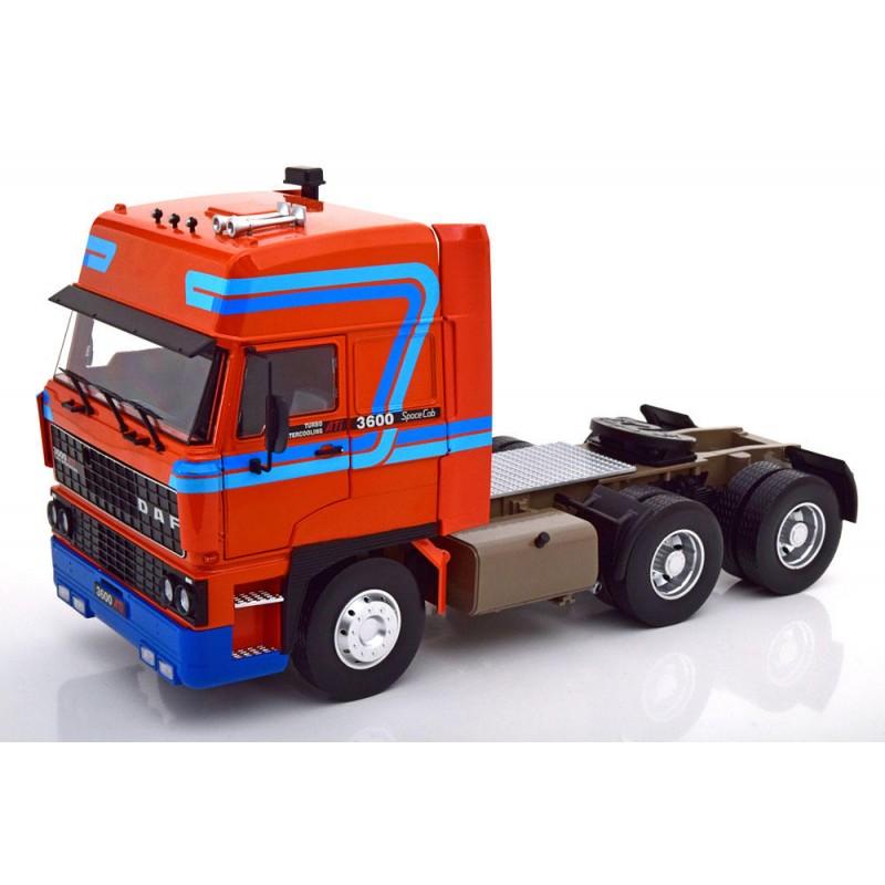 PRECOMANDA: Macheta camion DAF 3600 Space Cab 1986 orange LE 350 pcs, 1:18 Road Kings