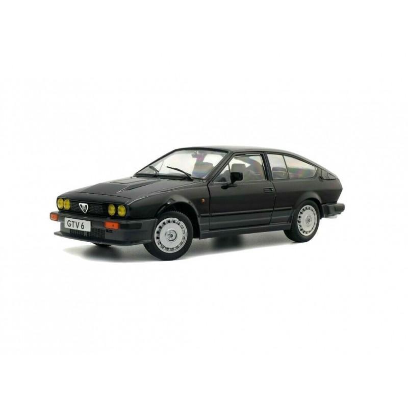 DEFECTA: Macheta auto Alfa Romeo GTV6 negru 1984, 1:18 Solido