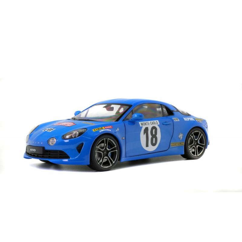 Macheta auto Renault Alpine A110 Rally Monte Carlo Historique #18 2018, 1:18 Solido