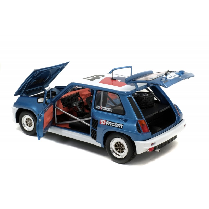 Macheta auto Renault 5 Turbo - European CUP 1981 – W.ROHRL, 1:18 Solido