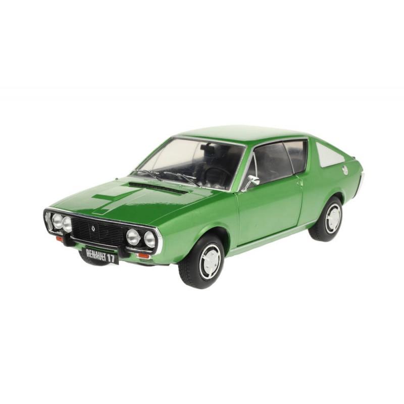 Macheta auto Renault R17 MK1 verde 1976, 1:18 Solido
