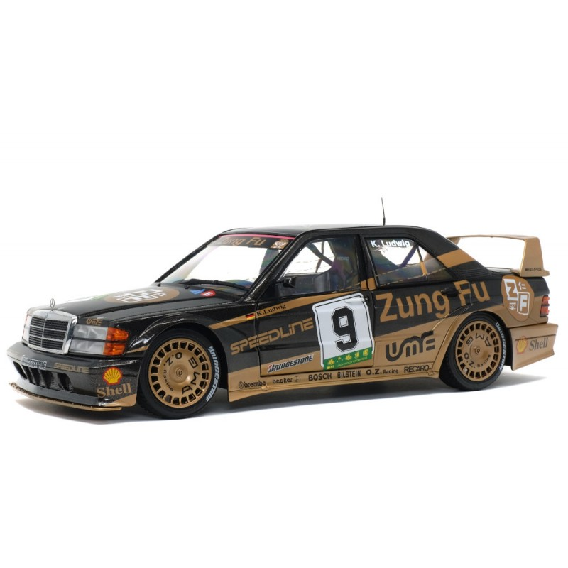 Macheta auto Mercedes Benz 190 EVO II (W201) GP Macau - K.LUDWIG #9 1991, 1:18 Solido
