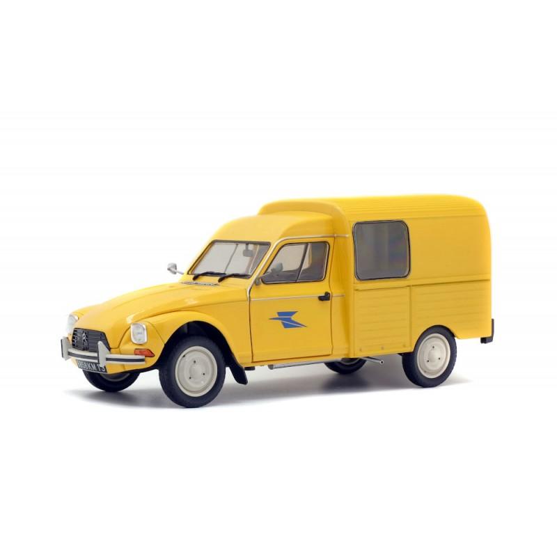 Macheta auto Citroen Acadiane – La Poste 1984, 1:18 Solido