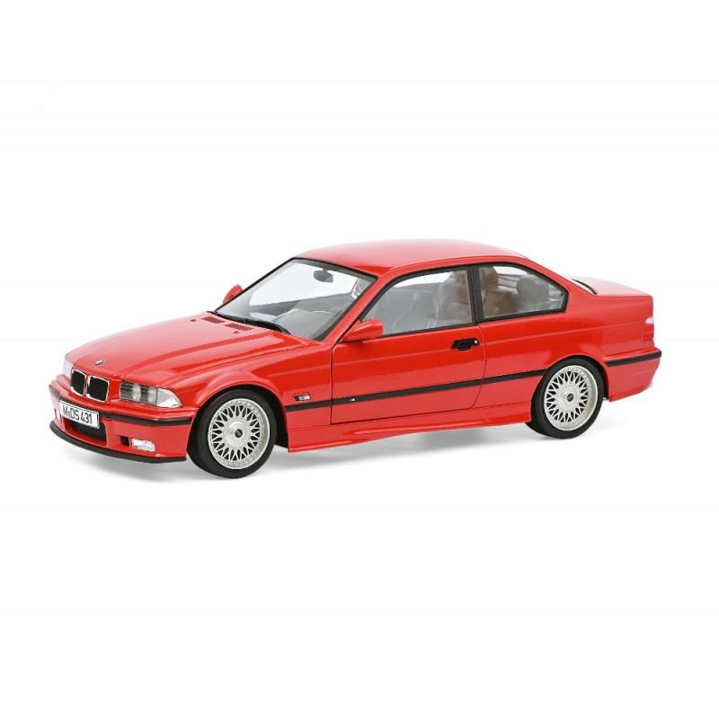 Macheta auto BMW E36 M3 rosu 1994 editie limitata, 1:18 Solido