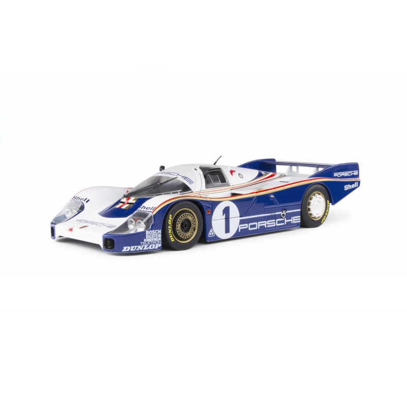 Macheta auto Porsche 956 LH – Winner Le Mans 1982, 1:18 Solido