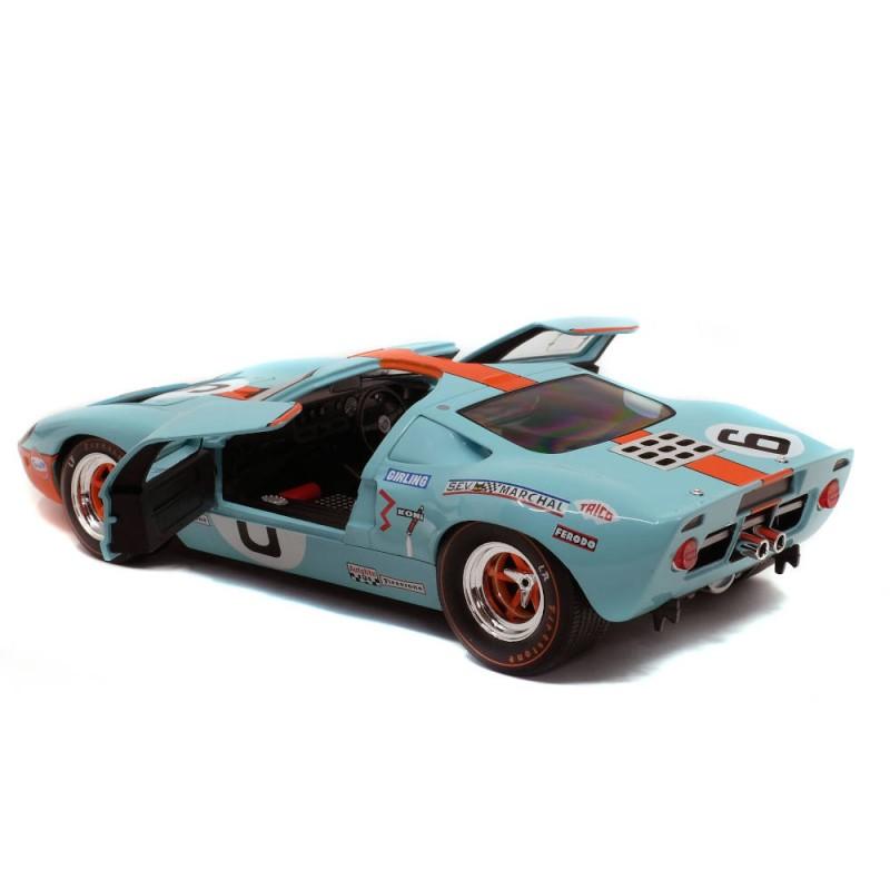 Macheta auto Ford GT 40 MK1 #6 Winner Le Mans 1969, 1:18 Solido