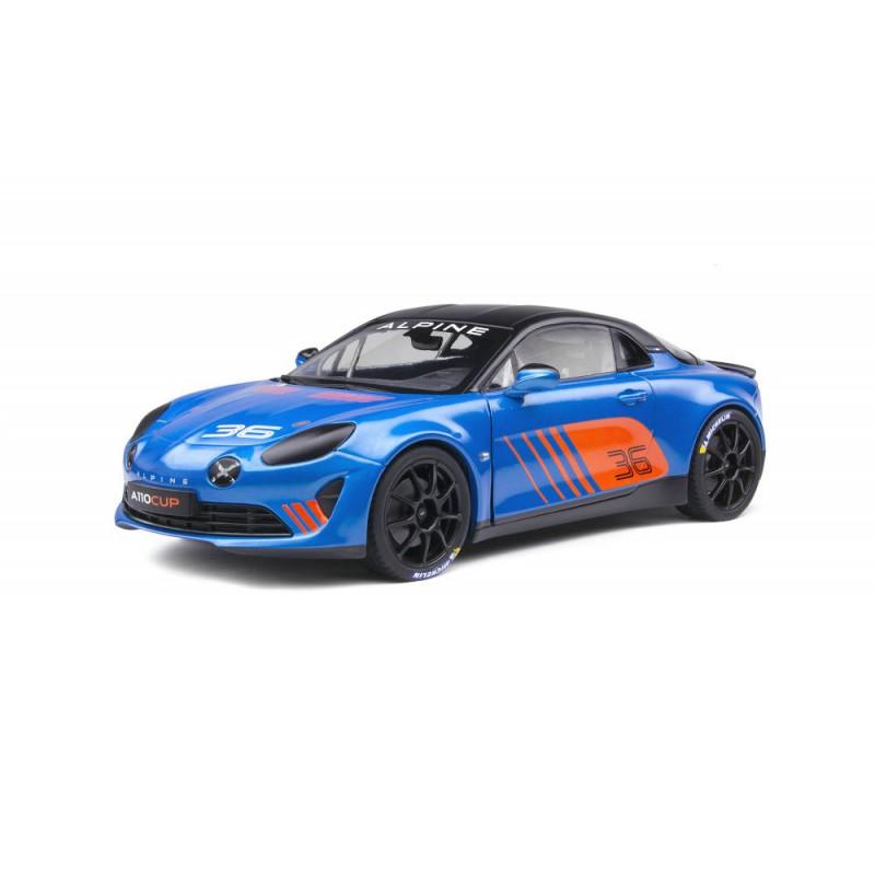 Macheta auto Renault Alpine A110 CUP 2019, 1:18 Solido