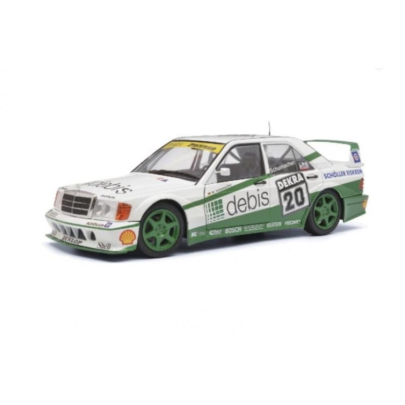 Macheta auto Mercedes-Benz 190 EVO2 #20 DTM 1991 M. Schumacher, 1:18 Solido