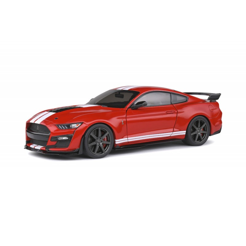 Macheta auto Ford Mustang GT500 Fast Track rosu 2020, 1:18 Solido