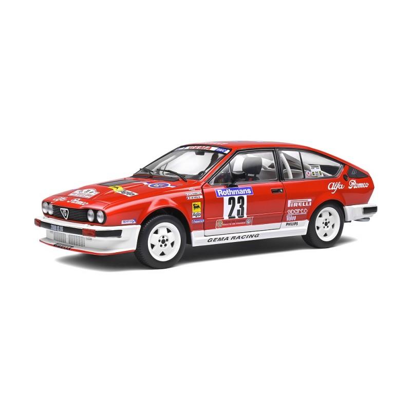 Macheta auto Alfa Romeo GTV6 Tour de Course 1985, 1:18 Solido