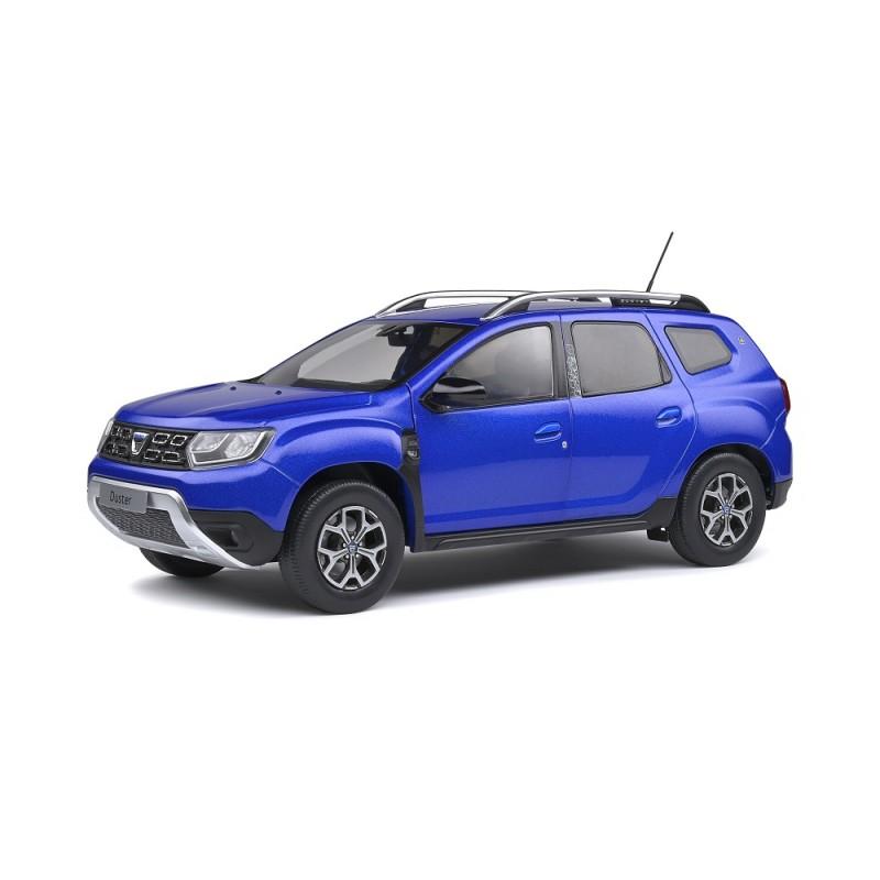 Macheta auto Dacia Duster Mk2 albastru 2018, 1:18 Solido