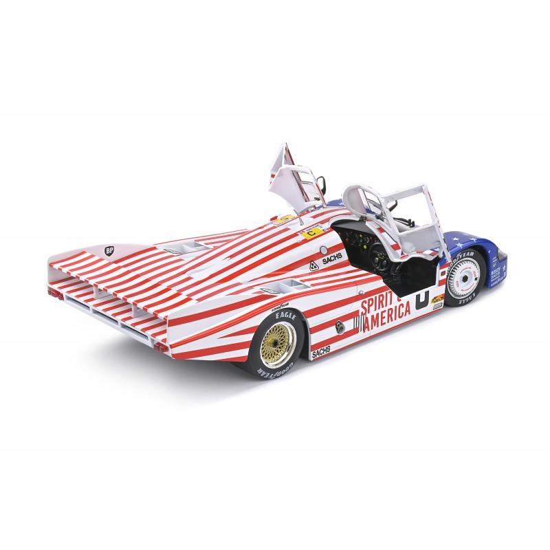 Macheta auto Porsche 956LH #8 Follmer, Morton, Miller, 24H Le Mans 1986, 1:18 Solido
