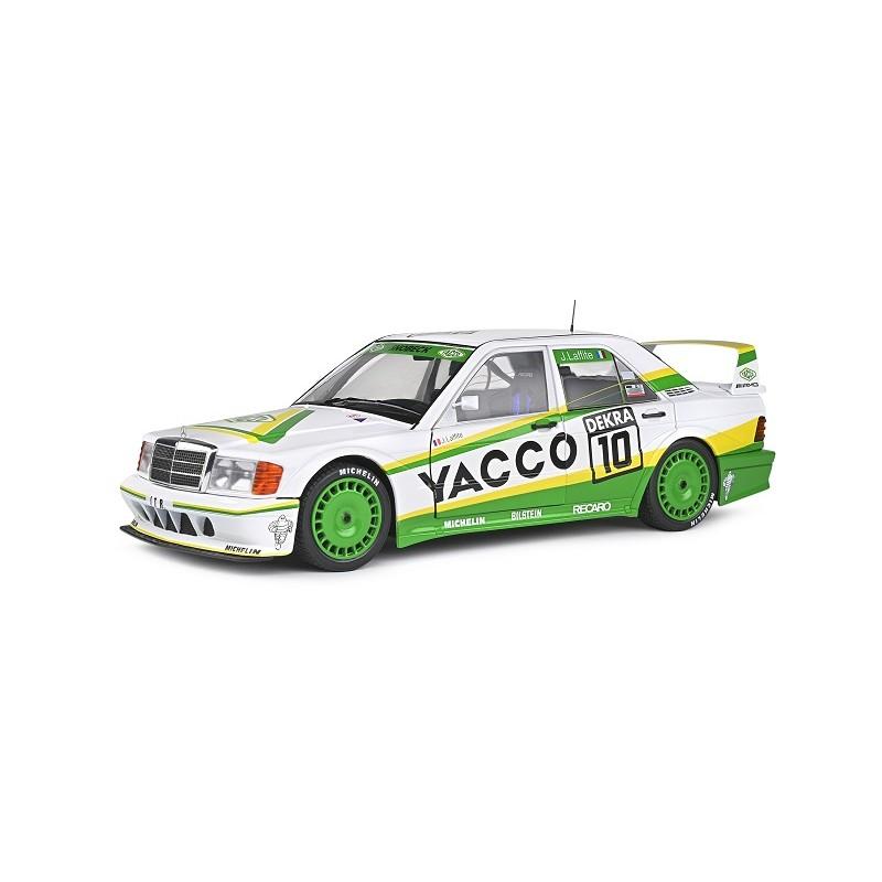 Macheta auto Mercedes-Benz 190 EVO II DTM #10 J.Laffite 1991, 1:18 Solido