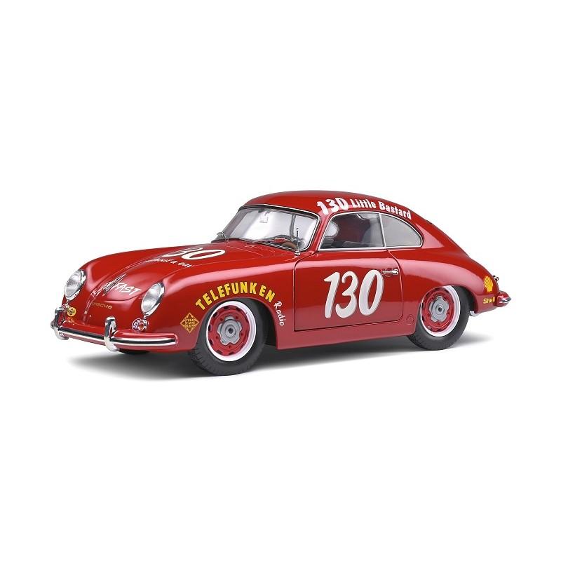 Macheta auto Porsche 356 Pre-A James Dean Tribute 1953 rosu, 1:18 Solido