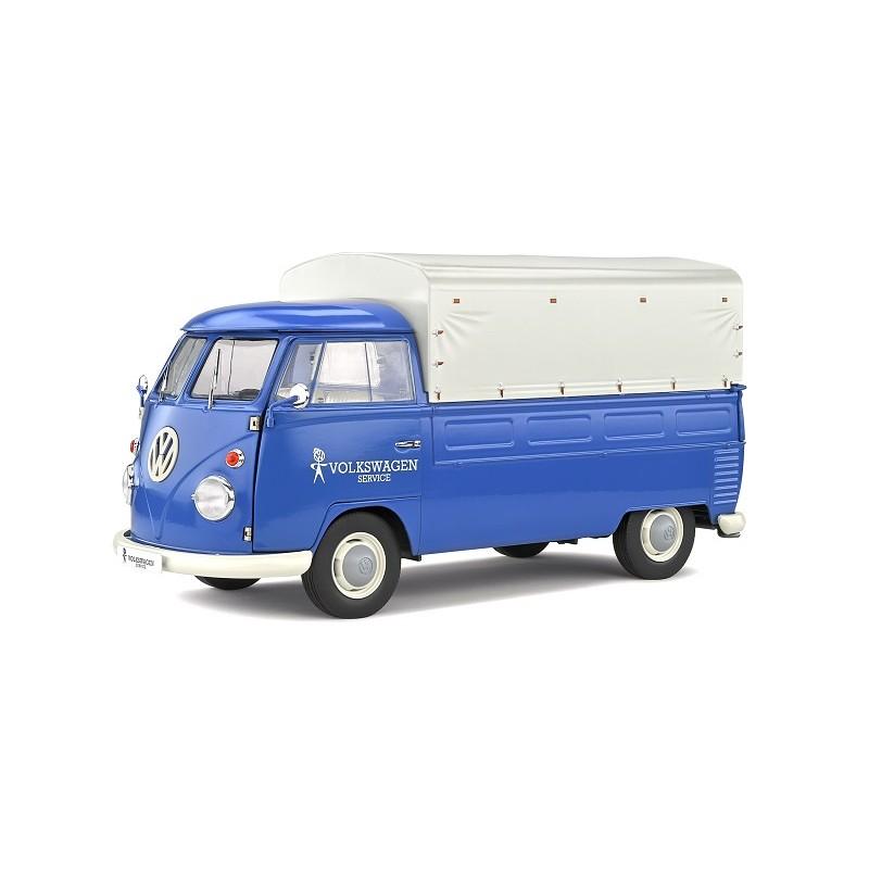 Macheta auto Volkswagen T1 Pick Up Volkswagen Service 1950, 1:18 Solido