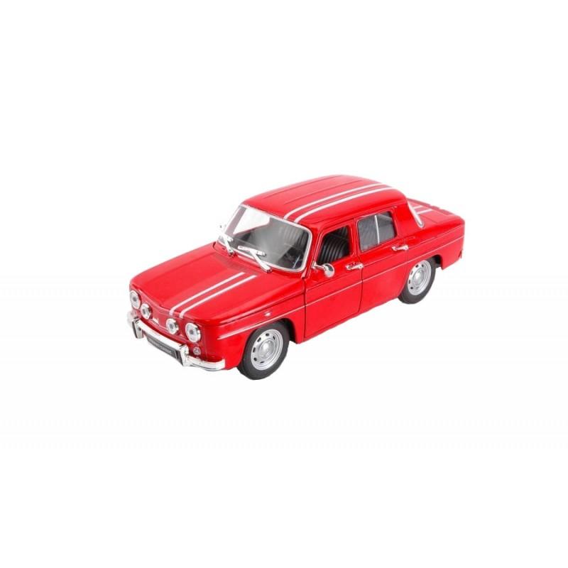 Macheta auto Renault R8 Gordini rosu 1967, 1:24 Welly